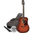 Ashton D25CEQ TSB Guitar Pack