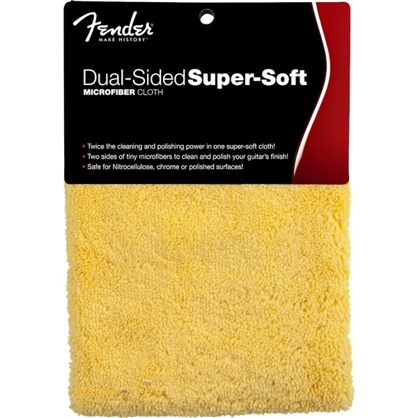 FENDER Super-Soft Dual-Sided Microfiber Cloth
