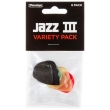 DUNLOP Jazz III Pick Variety Pack