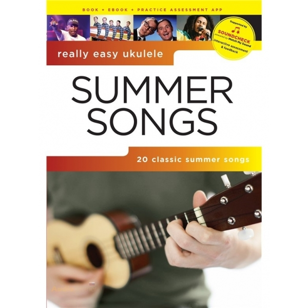 MS Really Easy Ukulele: Summer Songs