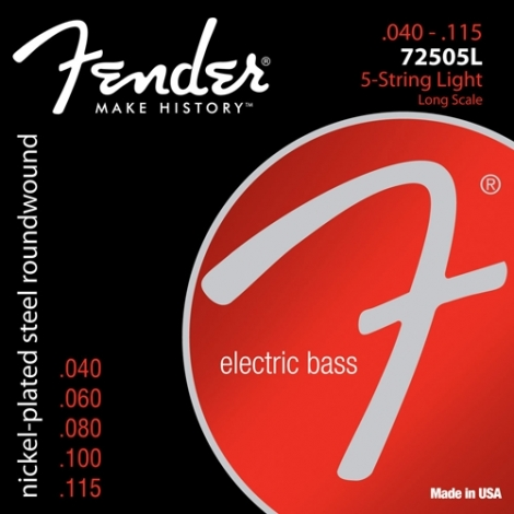 Fender 72505L 5-String Light 073-7250-453