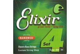Elixir 14102 Bass NANOWEB Heavy/Long Scale