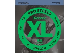 D'Addario EPS220 XL ProSteels Super Light