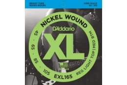 D'Addario EXL165 XL Nickel Regular Light Top/Medium Bottom