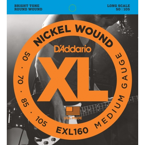 D'Addario EXL160 XL Nickel Medium