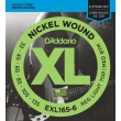 D'Addario EXL165-6 XL Nickel Regular Light Top/Medium Bottom