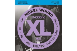 D'Addario EXL190 XL Nickel Custom Light