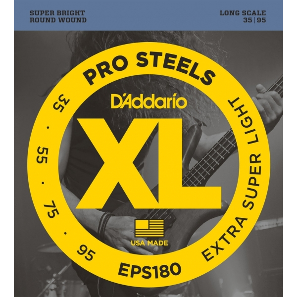 D'Addario EPS180 XL ProSteels Extra Super Light