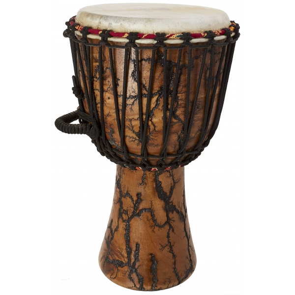 """TYCOON 10"""" Supremo Select Willow Rope-Tuned Djembe"""