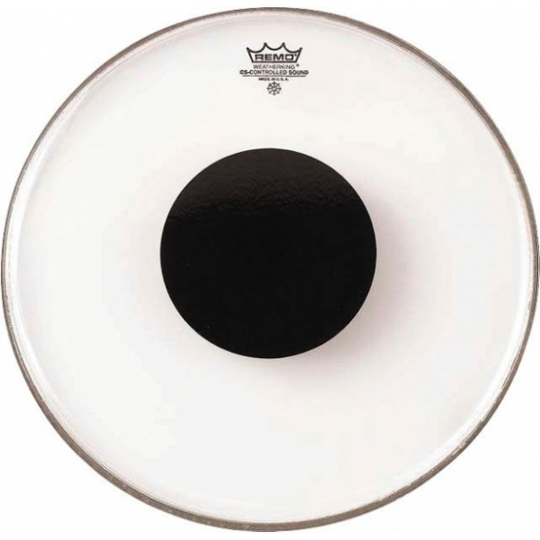 Remo CS-0308-10 clear black dot