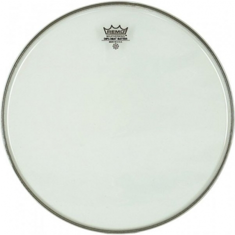 Remo BD0312-00 12'' Diplomat Clear