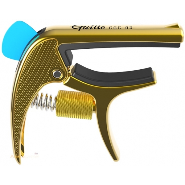 GUITTO GGC-02 Revolver Capo Gold