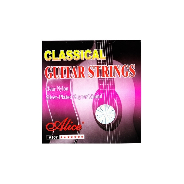 Alice A107-N G3 Clear nylon struna