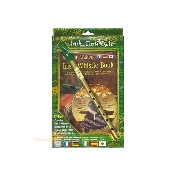 MS Waltons Tin Whistle CD Pack / Irish