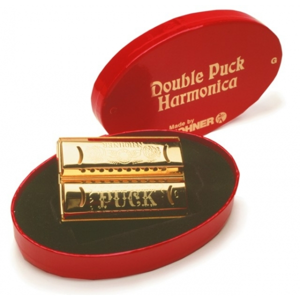 Hohner 553/40 CG Double Puck úst.harm.