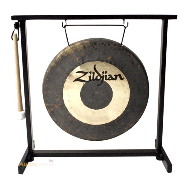 """ZILDJIAN 12"""" Traditional Gong And Stand Set"""