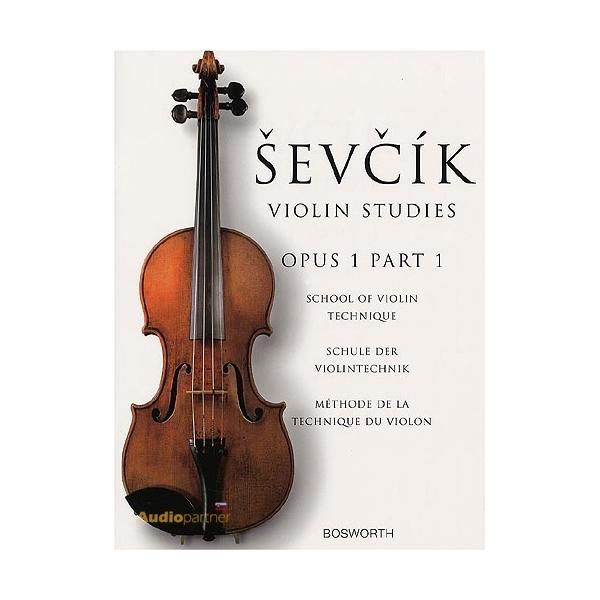 MS Otakar Sevcik: School Of Violin Technique, Opus 1 Part 1