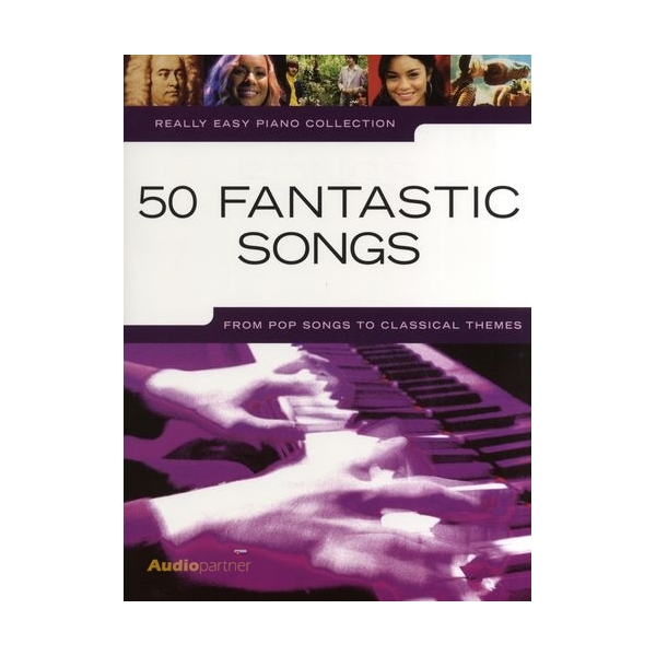 MS Really Easy Piano: 50 Fantastic Songs