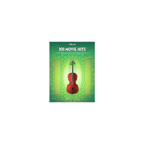 MS 101 Movie Hits for Cello