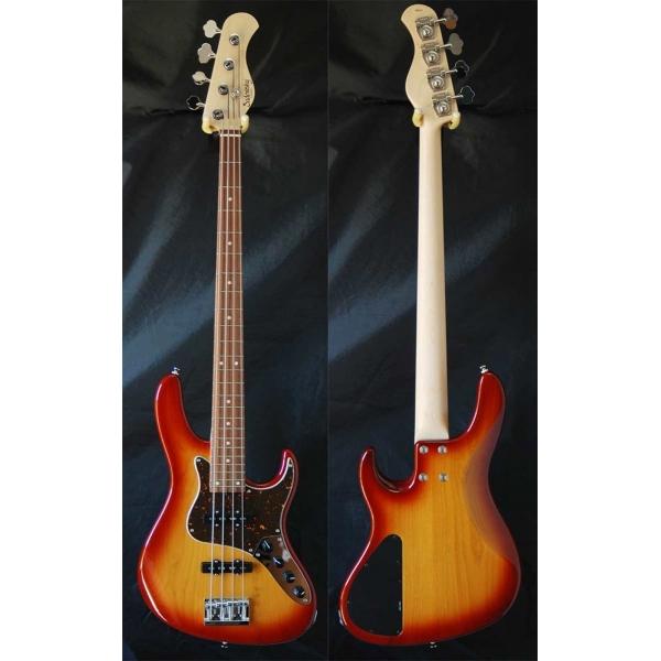 Sadowsky RV4-24 4-String Bass Dark Cherry Burst Rosewood