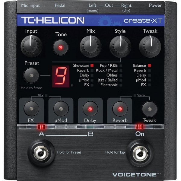 TC Electronic Helicon Voicetone Create XT