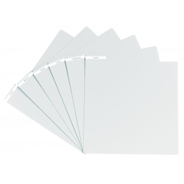 GLORIOUS PVC Vinyl Divider white