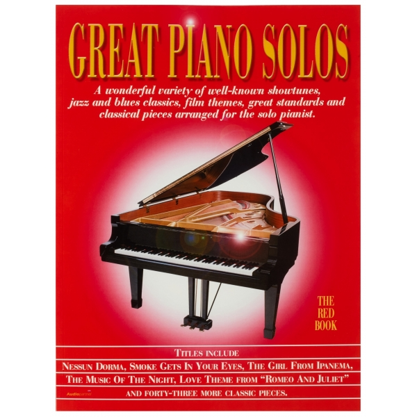 MS Great Piano Solos - The Red Book