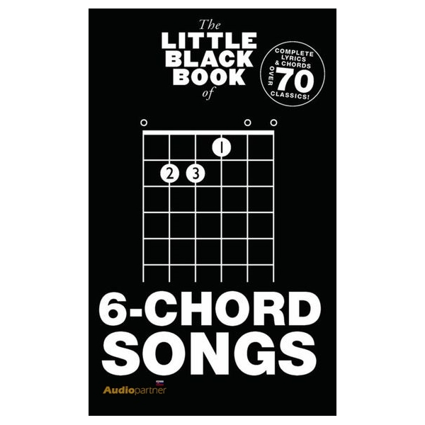 MS The Little Black Book Of 6-Chord Songs