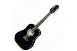 Hora W12205 EQ 12-str. Black gitara