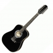 Hora W12205 EQ 12-str. Black gitara