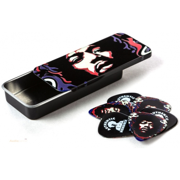 DUNLOP Jimi Hendrix Pick Tin Star Haze