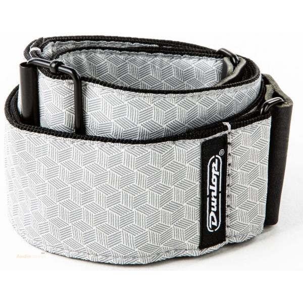 DUNLOP Jacquard Strap Cube Hatch Grey