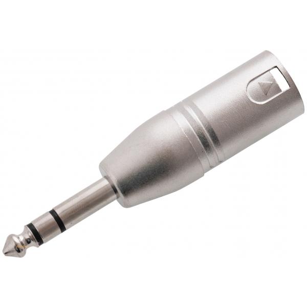 RELOOP Adaptor XLR M / stereo jack M