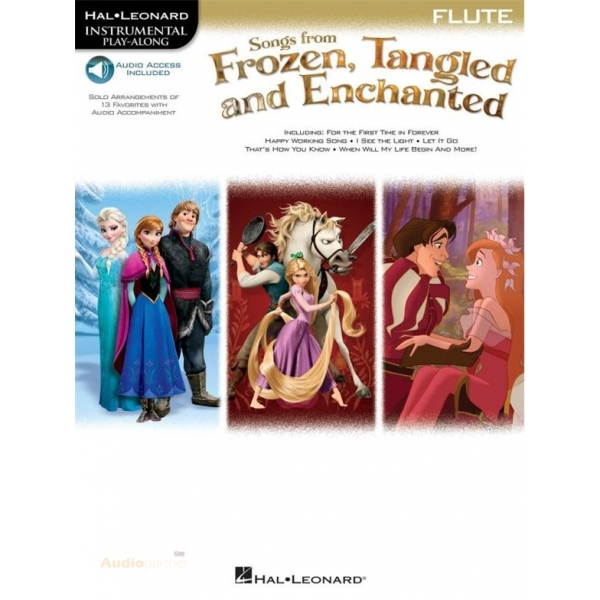 MS Songs From Frozen, Tangled And Enchanted: Flute