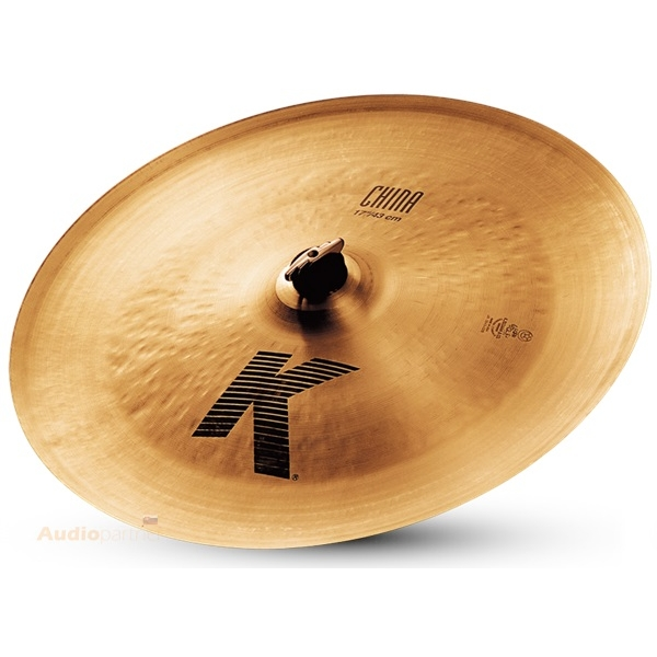 "ZILDJIAN 17"" K china"