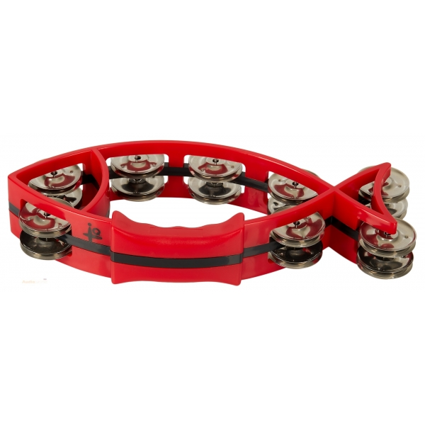"IQ PLUS 6"" Natural Wood Tambourine"