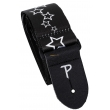 PERRI'S LEATHERS 7022 The Black And White Collection Stars