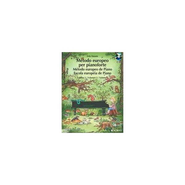 MS The European Piano Method - Volume 2 + CD