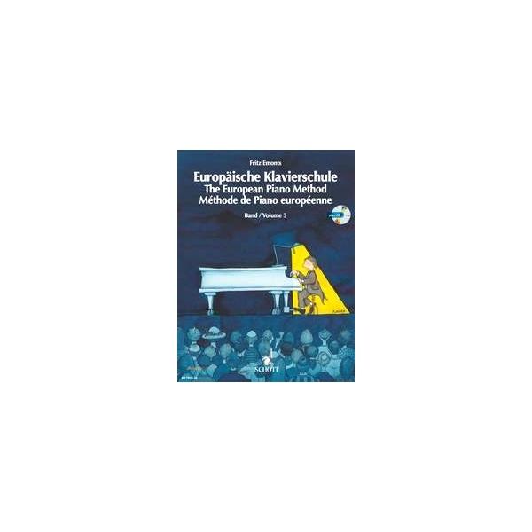 MS The European Piano Method - Volume 3