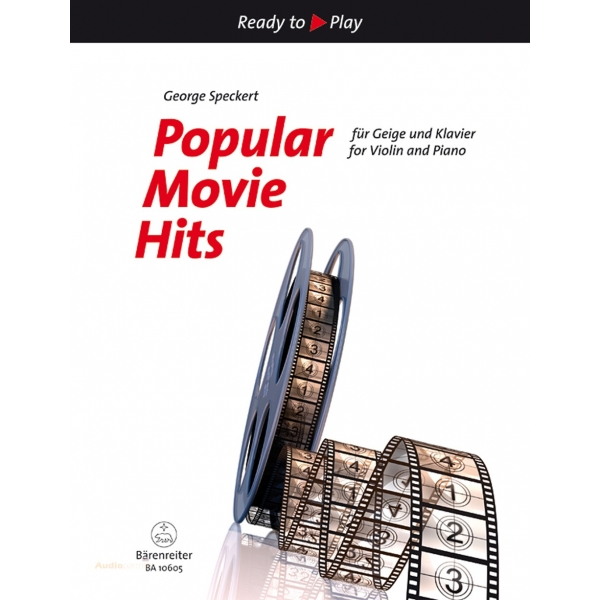 MS Popular Movie Hits for Violin and Piano
