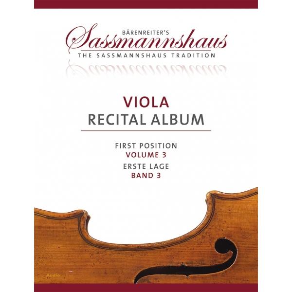 MS Viola Recital Album, svazek 3