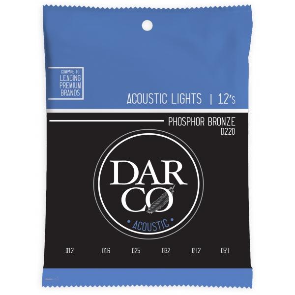 DARCO 92/8 Phosphor Bronze Light Promo Pack