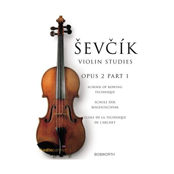 MS The Original Sevcik Violin Studies: School Of Bowing Technique Part 1