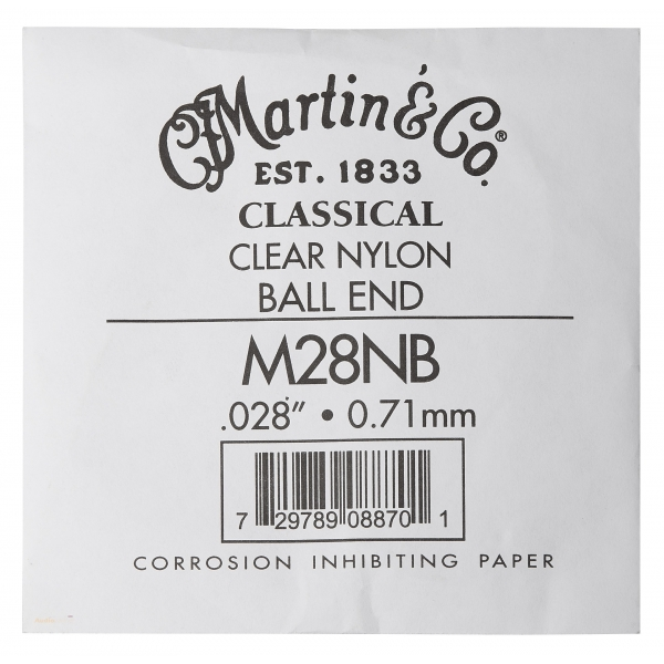 MARTIN Classical Nylon Ball End Single - 1st