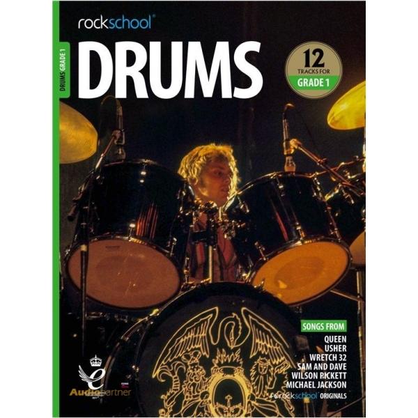 MS Rockschool Drums Grade 1 (2018)