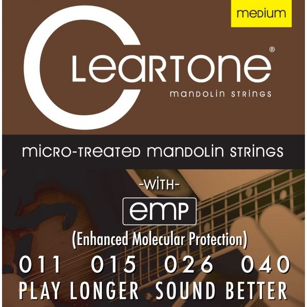 CLEARTONE Mandolin Phosphor Bronze 11-40 Medium