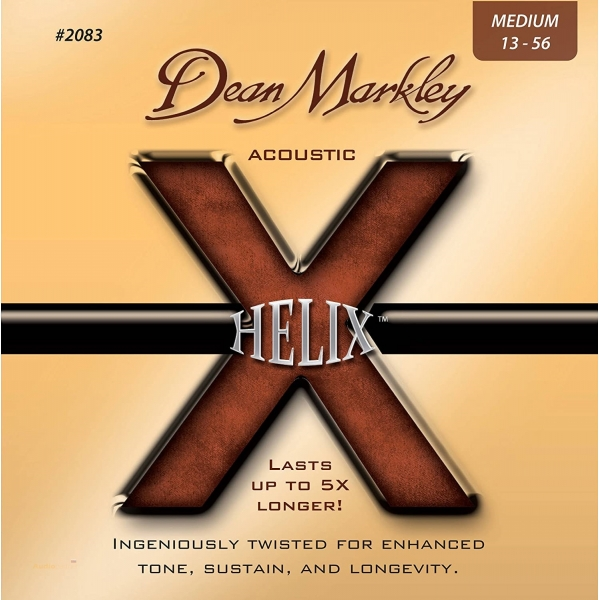 DEAN MARKLEY 2083 MED 13-56 Helix HD 80/20 Acoustic