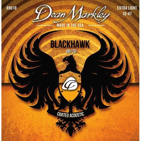 DEAN MARKLEY 8018 XL 10-47 Blackhawk 80/20 Acoustic