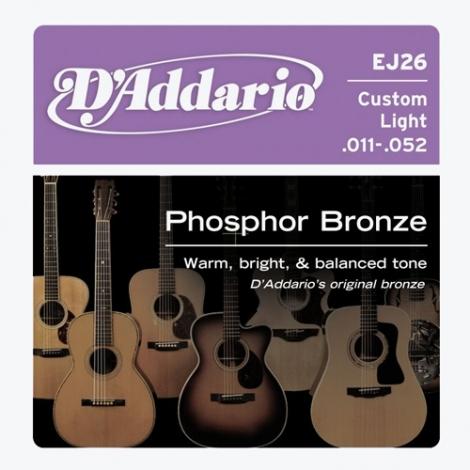 D'Addario EJ26 Custom Light