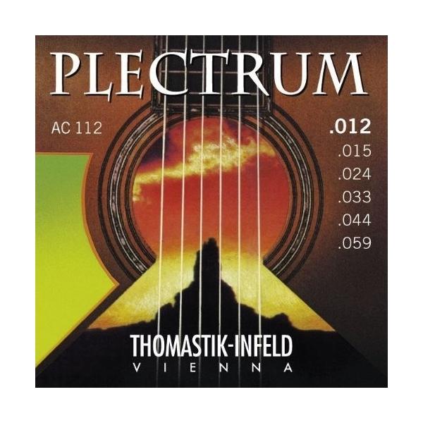 Thomastik AC112 Plectrum Bronze Flat
